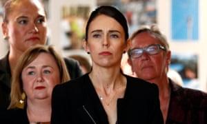New Zealand's Prime Minister Jacinda Ardern visits Christchurch