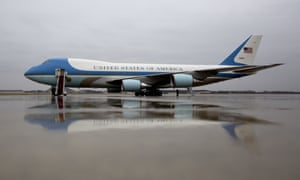 Air Force One ... when Trump takes over, it may be renamed Hair Force One.