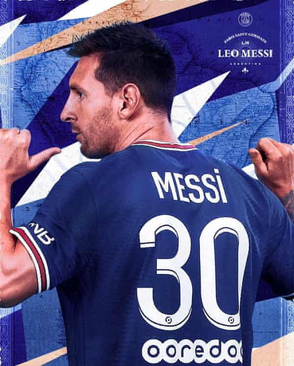 Lionel Messi will wear the No 30 shirt after reportedly turning down Neymar's offer of the No 10 shirt.