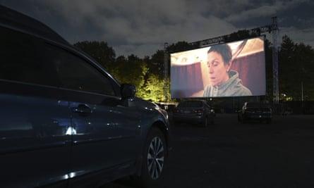 A New York film festival screening of Nomadland, September 2020.