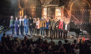 'What so exciting?' … curtain call at the Union Chapel.