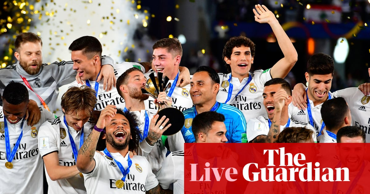 792084b8d9c Real Madrid 4-1 Al Ain  Club World Cup final – as it happened ...