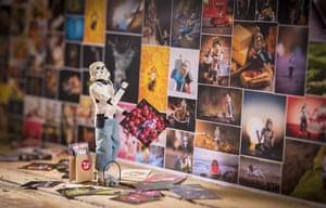 Stormtrooper admiring art