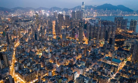 Hong Kong from the skies – in pictures