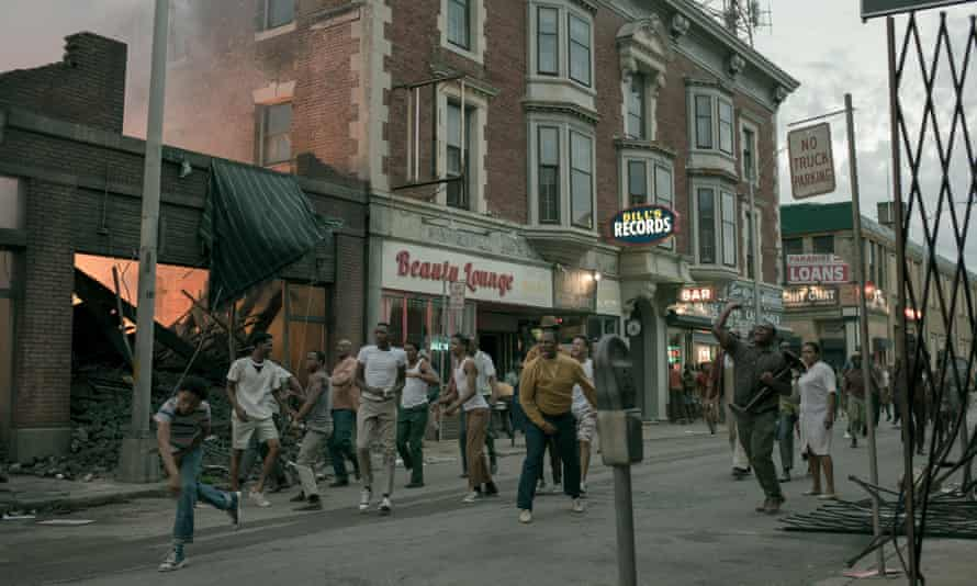 Detroit, which tells the story of the 1967 riot triggered by brutal police racism.