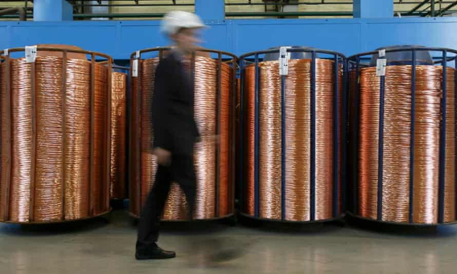 Copper is one of many industrial commodities which fell sharply in value in 2015. It could fall further in 2016.