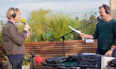 Techno meets house: Richie Hawtin (left) and Pete Tong