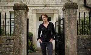 Jane Giddins at her home in Newton St Looe, near Bath, Somerset.