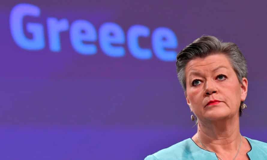 Ylva Johansson, EU commissioner for home affairs.