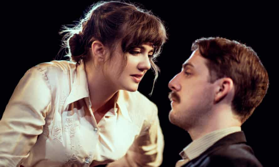 Social superiority … Ellie Nunn as Minnie and Harry Hepple as Luther in The Daughter-in-Law.