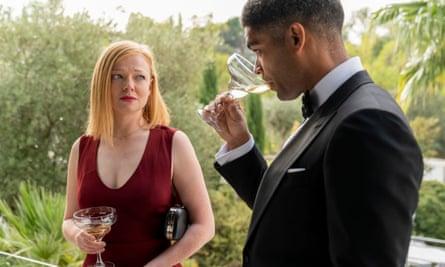Sarah Snook and Kingsley Ben-Adir in Soulmates