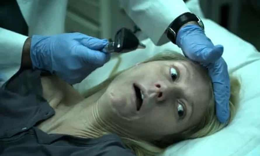 Bee-sting facials won't help you now ... Gwyneth Paltrow in Contagion