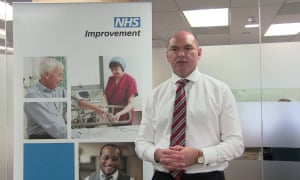 Jim Mackey, NHS Improvement's chief executive.