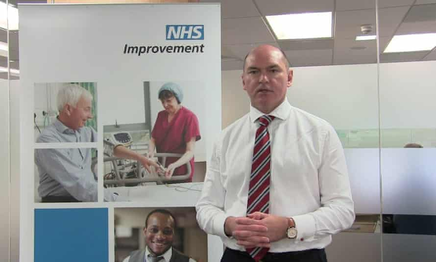 Jim Mackey, NHS Improvement's chief executive.