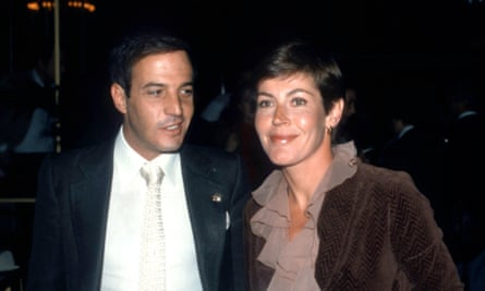 Jeff Wald and Helen Reddy at the Beverly Hilton Hotel on 27 March 1981.
