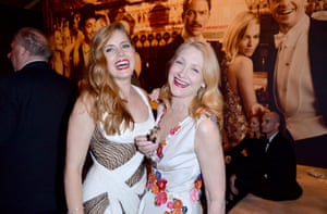 Actresses Amy Adams and Patricia Clarkson attend the 2016 Vanity Fair Oscar Party