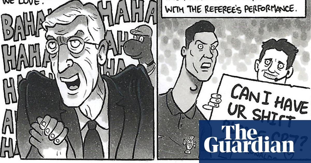 David Squires on … Wenger's revenge, CR7's shirt and love conquering hate