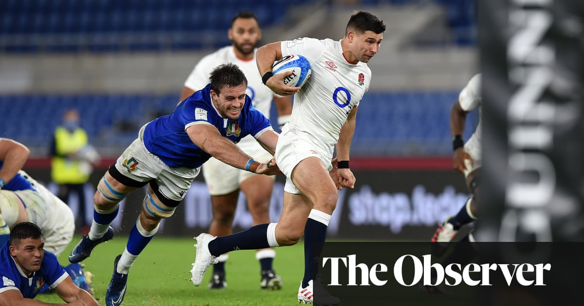 Ben Youngs double sinks Italy and puts England on course for French favour