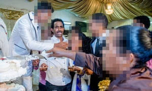 A photo of Medhanie Yehdego Mered (second left) at a family wedding in October 2015 gave fresh momentum to claims the extradited man was a victim of mistaken identity.