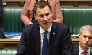 Health secretary Jeremy Hunt is questioned by MPs about the winter crisis in the NHS.