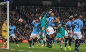 Fernando Llorente scores to make it 4-3 on the night. The goal was checked by the VAR for handball, but was ultimately awarded.