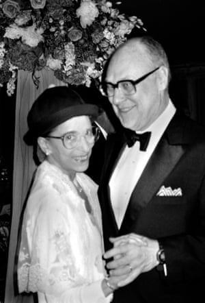 Ginsburg with her husband, Martin, in 1998.