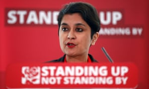 Shami Chakrabarti launching her report into antisemitism in the Labour party on 30 June 2016