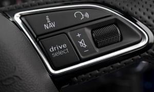 Audi RS 6 interior