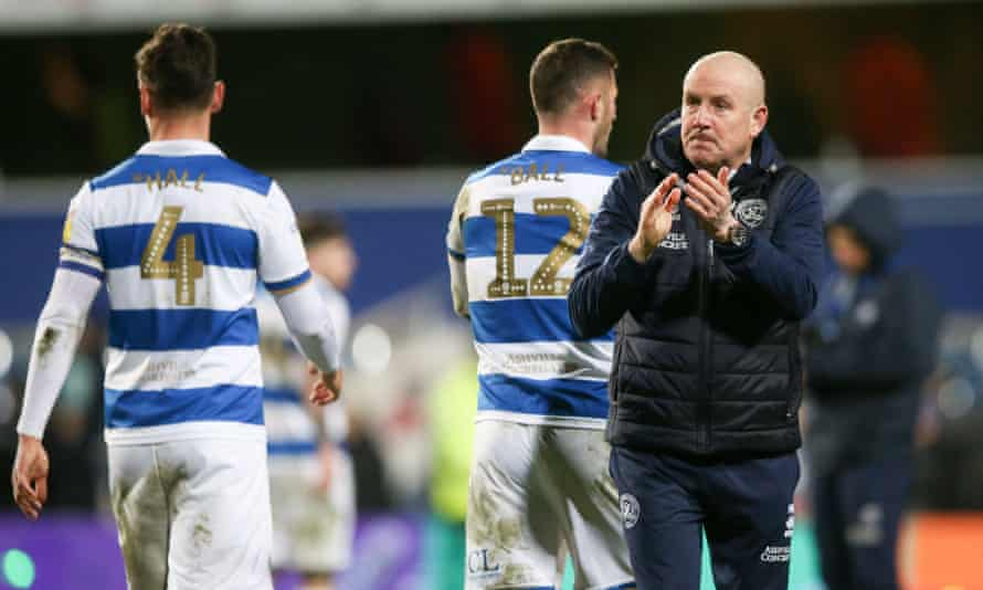 QPR's manager, Mark Warburton, is unhappy with the restart plan, according to the club's chief executive, Lee Hoos.