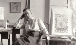 'High-minded': Hilma af Klint in her studio at Hamngatan, Stockholm, circa 1895.
