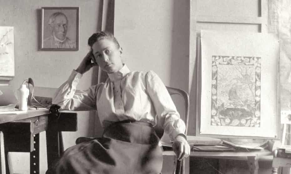 'High-minded': Hilma af Klint in her studio at Hamngatan, Stockholm, circa 1895.