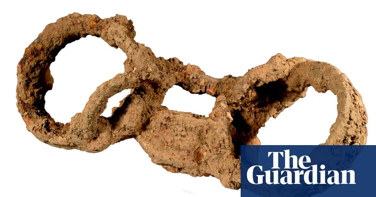 Shackled skeleton identified as rare evidence of slavery in Roman Britain