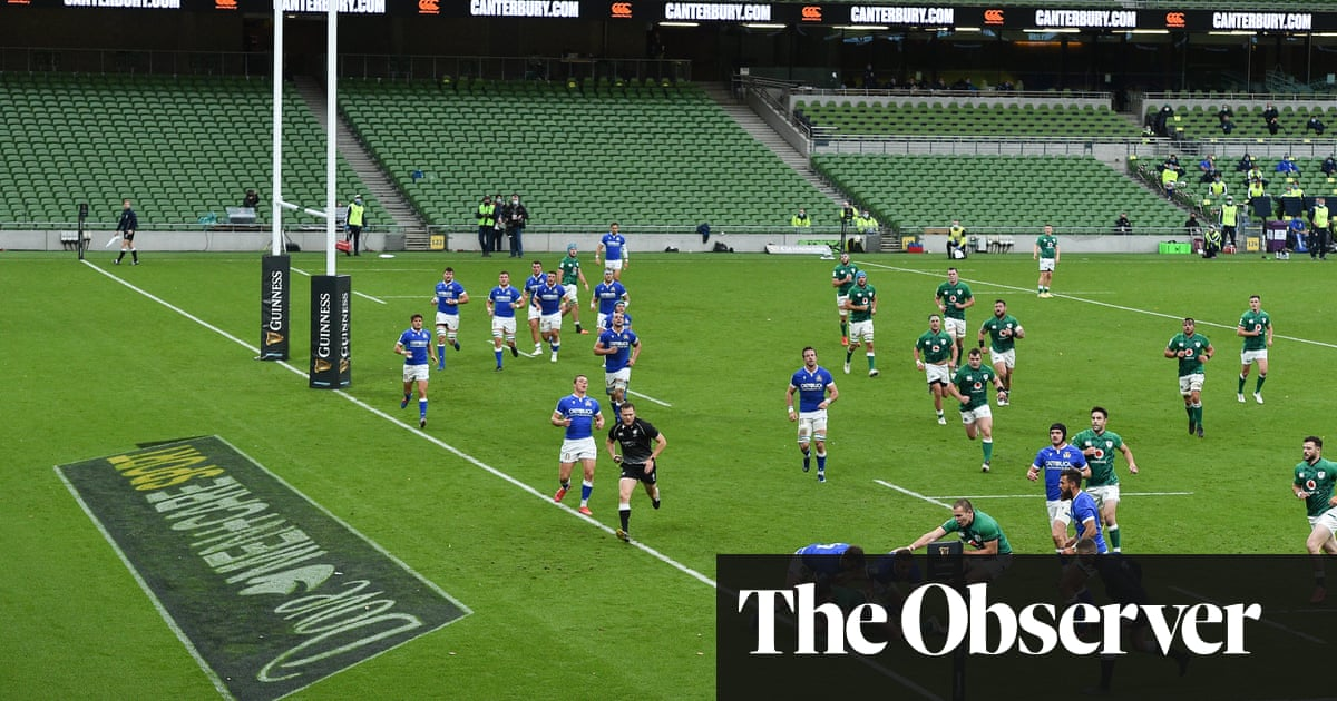 Ireland need Six Nations Paris bonus as Keenan double leads thrashing of Italy