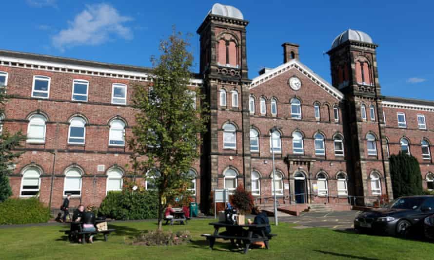 Skiddaw building, Cumbria University's Carlisle campus.