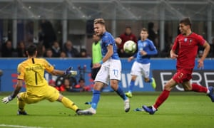 Rui Patrício denies Ciro Immobile as Portugal booked themselves home advantage for the Nations League semi-finals.