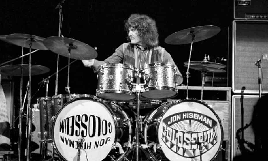 Jon Hiseman performing with Colosseum in 1970.