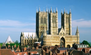 Lincoln cathedral: 'More people pack out England's 42 Anglican cathedrals, whose congregations have grown some 30% since the turn of the century.'