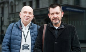 Tim Joyce and Gerry O'Brien