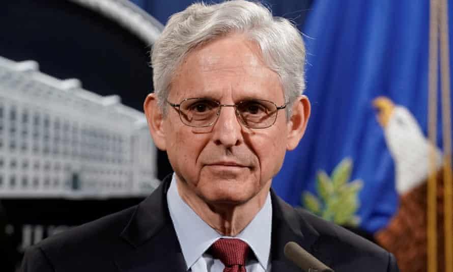 El fiscal general de los Estados Unidos, Merrick Garland.