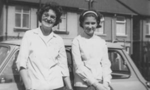 Jenni Murray, aged 14, with her mother