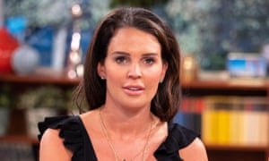 Danielle Lloyd was distressed at being a target of phone hacking.