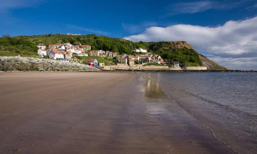 Runswick Bay, North Yorkshire, England