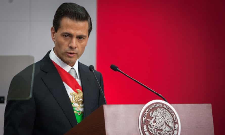 President Enrique Peña Nieto mexico