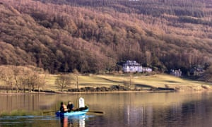 In 2000, a lantern was taken in John Ruskin's boat across Coniston Water, Cumbria, to his home Brantwood to mark the 100th anniversary of his death.