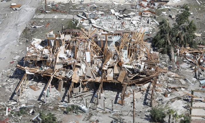 Hurricane Michael: death toll rises to 17 as rescuers search for