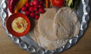 Perfect pitta bread.