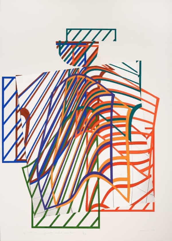 Dóra Maurer's Space Painting (1984–96).