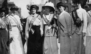 New York women's suffrage parade