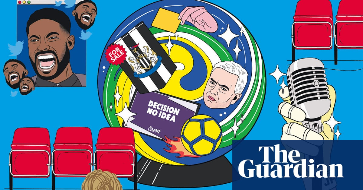 VAR flip-flops and white tuxedos: gazing into the Premier League crystal ball | Barry Glendenning
