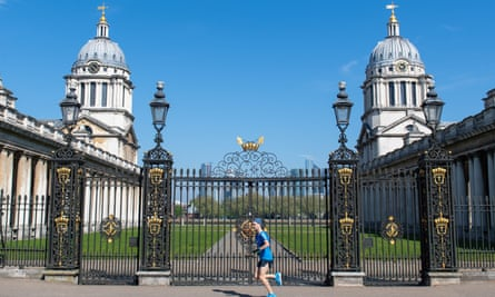 The Old Royal Naval College, Greenwich.